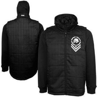 METAL MULISHA Wanted Mens Hooded Jacket Clothing