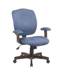 Office Star Cherry Wood Finish Managers Chair