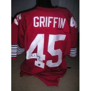 Archie Griffin signed autographed Authentic jersey Ohio State Buckeyes