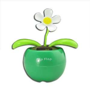 Flip Flap Swing Dancing Solar Powered Flower Toys SF G1 Electronics
