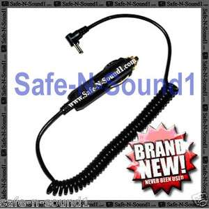WHISTLER/COBRA Cigarette LIGHTER COILED POWER CORD PLUG