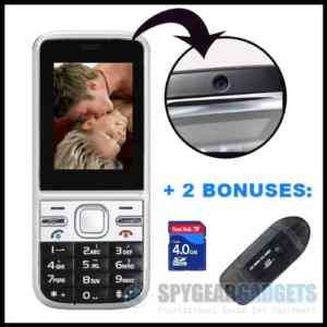 Cell Phone Spy Camera DVR w/ Motion Activated Recording