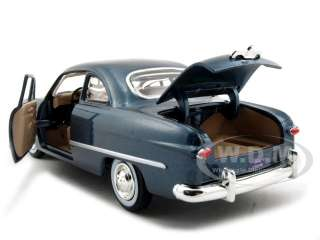 scale diecast model car of 1949 Ford Coupe die cast car by Motormax