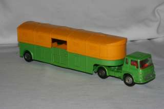 1970s Corgi Bedford Articulated Horse Box Truck