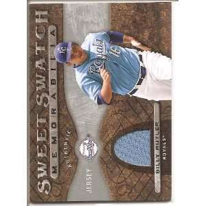 2009 Upper Deck Sweet Swatch Billy Butler Authentic Jersey