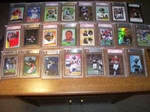 FOOTBALL PACK AUTOGRAPH JERSEY GRADED LOT 2006 SPX PACK IN EVERY LOT