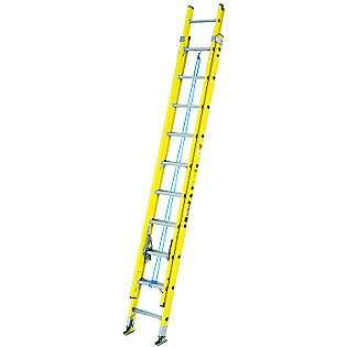 16 ft. Aluminum Extension Ladder  Davidson Tools Garage Organization