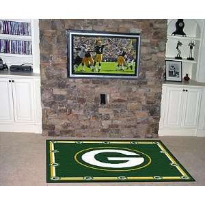 Green Bay Packers Area Rug   NFL Large Accent Floor Mat