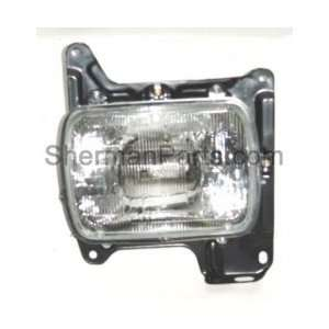 Lamp Assembly Sealed beam 1986 1997 Nissan/Datsun Pickup Automotive