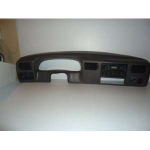 99 01 FORD F250 F350 GRAY 4X4 DASH RADIO BEZEL, RADIO