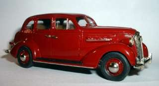 43 1937 CHEVROLET MASTER DELUXE BY MADISON MODELS