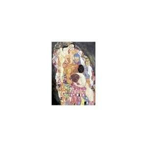 Death and Life, Gustav Klimt,1500 pieces Puzzles Toys & Games