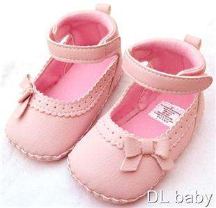 pink kids toddler baby girl Mary Jane shoes size 2 3