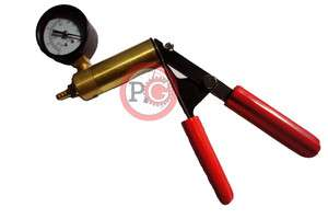 Replacement Brass Enlargment Hand Vacuum Pump w/ Gauge