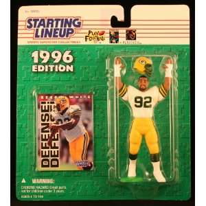 REGGIE WHITE / GREEN BAY PACKERS 1996 NFL Starting Lineup