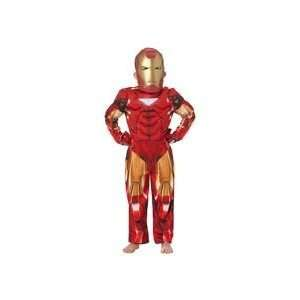 Cesar UK Iron Man 2 Deluxe Muscle Costume   3/4 yrs Toys