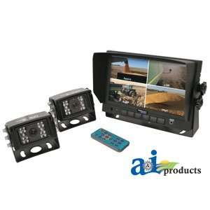 A&I Quad CabCAM 7 Digital Touch Screen TFT LCD Monitor 2