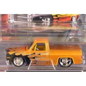 Chevrolet 1500 with Flames 164 Scale Die Cast Truck Toys & Games