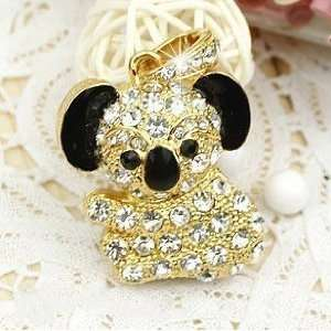4 GB Koala Bear Shape Crystal Jewelry USB Flash Drive