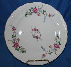 Royal Kent China Dinnerware Poland Roses Dinnerplate(s)