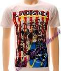Woodstock Festival music & art rock men T shirt Sz L