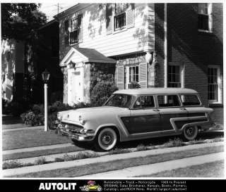 1954 Ford Country Squire Station Wagon Factory Photo