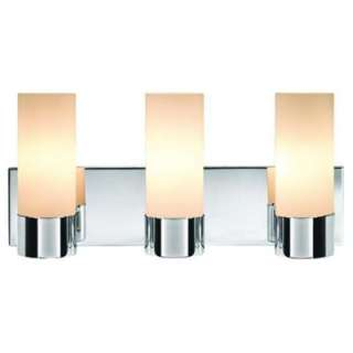 Hampton Bay 3 Light Semi Flush Vanity Wall Fixture V294CH03 G5097