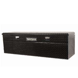 Tradesman 60 in. Flush Mount Truck Tool Box TAWB60SLBK at The Home