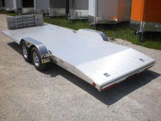 2012 R&R 8 WIDE Deck ALL Aluminum Car+Motorcycle Trailer 8x20 Flatbed