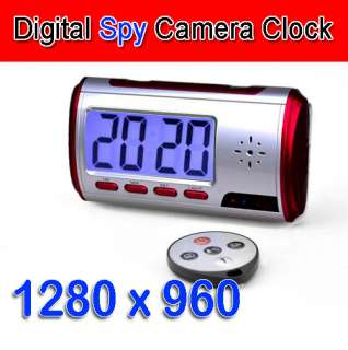 Mini USB Alarm Clock Video DVR Hidden/SPY/Nanny Camera