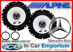 Mercedes C class Front door Speakers Alpine car speaker