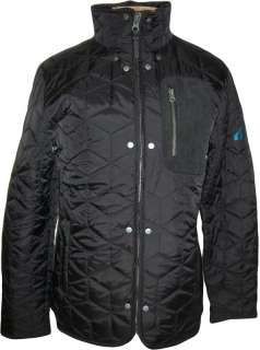 Boxfresh Mens Black Quilted Jacket Sizes M L XL XXL