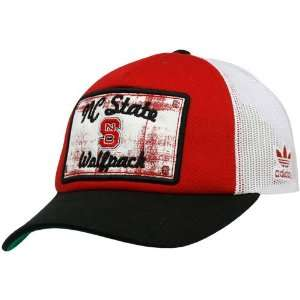 adidas North Carolina State Wolfpack Red Black Patchwork