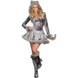 Halloween Costumes Big Bad Sexy Wolf Adult Costume
