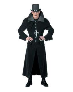 Mens Graveyard Goth Costume  Wholesale Vampire Halloween Costume for