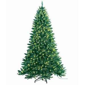 Medium Alpine Spruce Pre Lit Artificial Christmas Tree   Clear