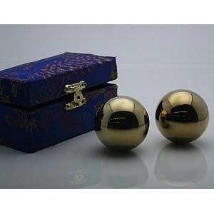 Golden Chinese Healthy Exercise Massage Therapy Metal