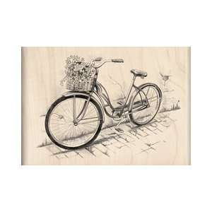 Collection   Wood Mounted Stamps   Bicycle Arts, Crafts & Sewing