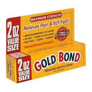 Gold Bond Medicated Anti Itch Cream 2 ounce Health
