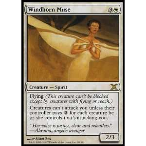 the Gathering Windborn Muse Collectible Trading Card Toys & Games