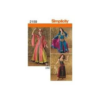 Simplicity Sewing Pattern 2159 Misses Costumes, Size R5 (14 16 18 20