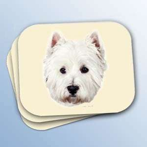 West Highland White Terrier (Westie) Mouse Pad Office