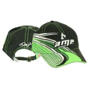 Dale Earnhardt Jr Amp Energy Drink Swirl Adjustable Baseball Hat