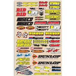 N Style Decal Sheets   Small Logo Sticker Kit V2 N30 188