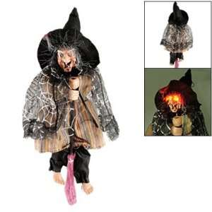 Halloween Sound Red Light Scary Cloak Medea Witch  Toys & Games