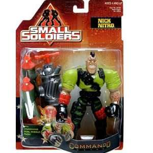 Small Soldiers  Nick Nitro Action Figure  Toys & Games