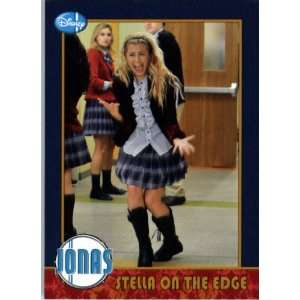 2009 Topps Jonas Brothers Trading Card #26 STELLA ON THE EDGE