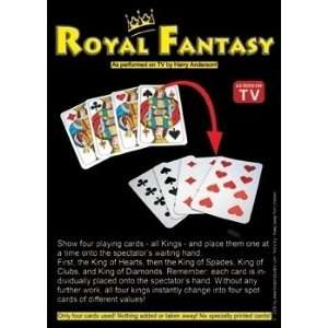 Royal Fantasy   Card / Close Up / Street Magic Tri Toys