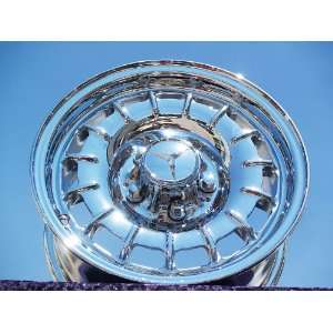 com Mercedes Benz S/SL class Set of 4 genuine factory 14inch chrome
