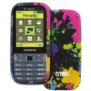EMPIRE T Mobile Samsung Gravity TXT Paint Splatter Rubberized Design
